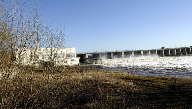 Latvijā HES pērn saražotās elektroenerģijas daudzums samazinājies par 44,1%
