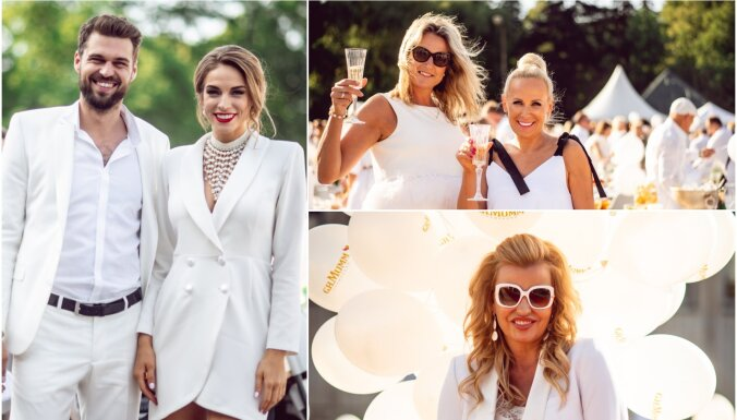 Baltais glamūrs: Slavenību un gardēžu stila paraugstunda slepenajā Rīgas piknikā