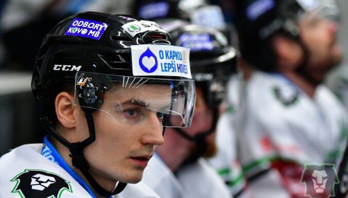 Bičevskim gūti vārti zaudējumā Galviņa komandai Čehijas čempionātā