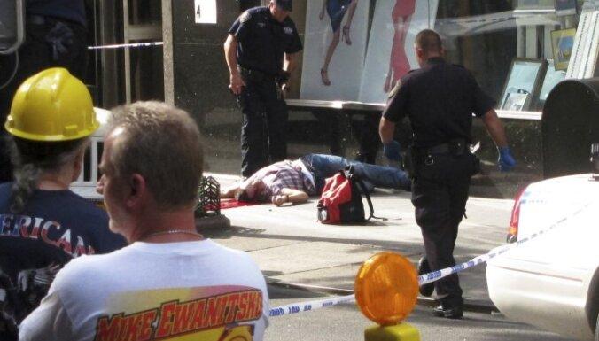 Стрельба в Нью-Йорке: полицейские ранили девять прохожих