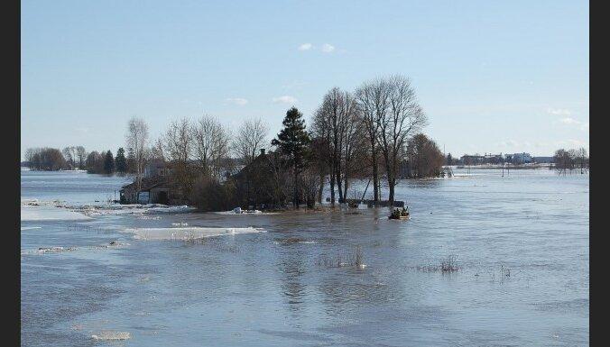 Latvenergo предупреждает о рисках во время паводка
