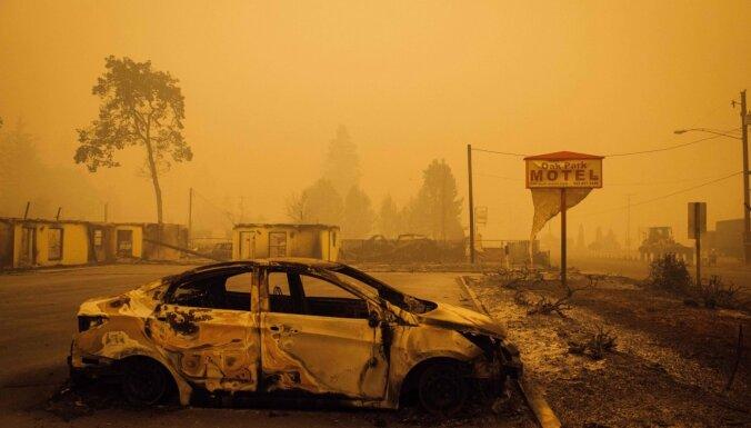 Американцы бегут от пожаров: в Орегоне эвакуировано полмиллиона человек