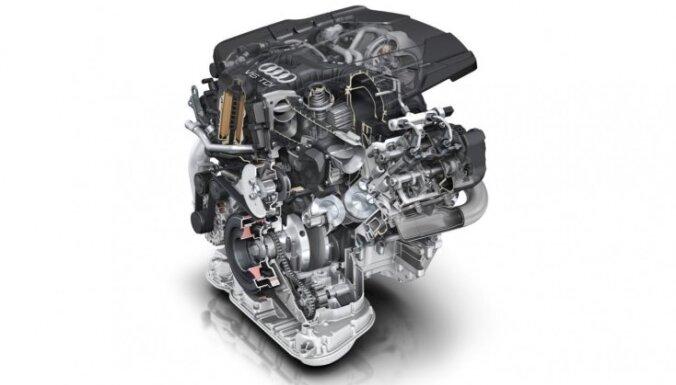 'Audi' prezentējis jauno trīslitru dīzeļmotoru