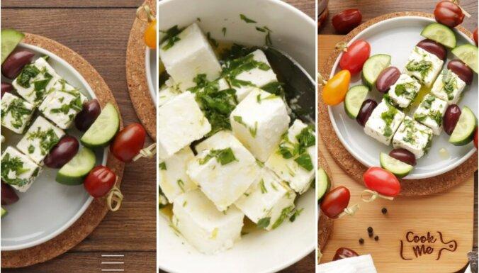 Grieķu salātu iesmiņi