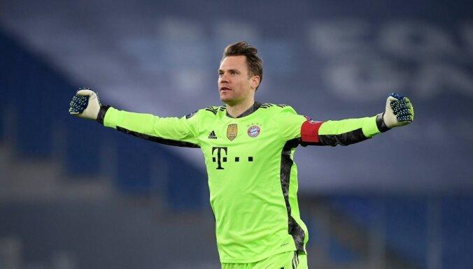 'Bayern' ar drošu uzvaru tuvojas UEFA Čempionu līgas ceturtdaļfinālam