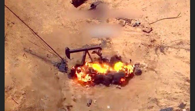 Video: ASV vadītie koalīcijas spēki aktīvi bombardē 'Daesh'