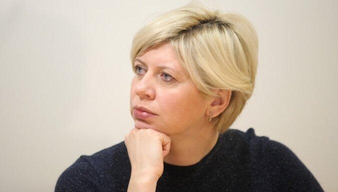 Veselības ministre Anda Čakša iestājusies Latvijas Zaļajā partijā