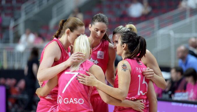 Latvijas sieviešu basketbola izlase gūst uzvaru arī trešajā Čehijas pārbaudes turnīra mačā