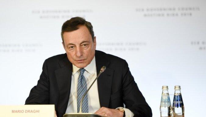 Bažās par recesiju ECB samazina procentu likmes un atsāk aktīvu uzpirkšanas programmu