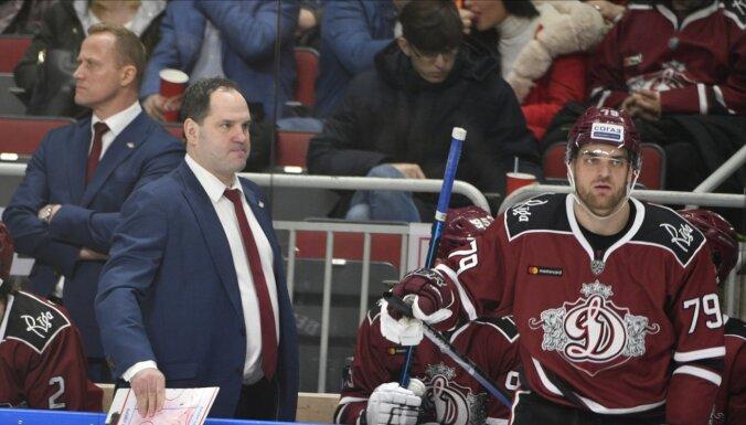 Rīgas 'Dinamo' izbraukumā devusies bez vairākiem jaunajiem 'Rīgas' hokejistiem
