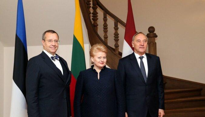 Grībauskaite: Visaginas AES projekta liktenis būs atkarīgs no Lietuvas valdības