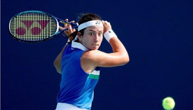 Севастова завершила борьбу в Майами после поражения в 1/4 финала