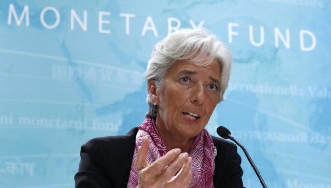 Лагард: если Латвия хочет в еврозону, надо проявить волю