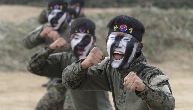 Dienvidkorejas armija samazinās karavīru skaitu par 100 000