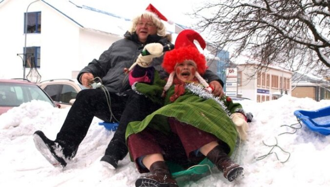 Fotoreportāža: Ziemassvētku un Jaunā gada gaidīšana Ventspilī