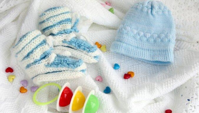 Sestdien Stradiņa slimnīcā piedzimuši šogad pirmie trīnīši