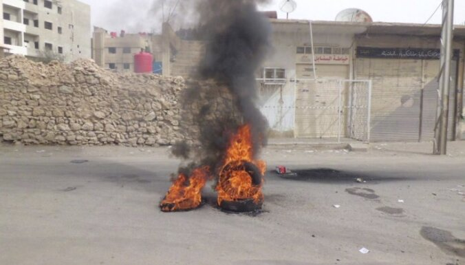 Nemieros Sīrijā sestdien 80 bojāgājušie