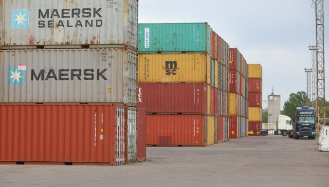 Aprīlī Latvijas eksporta vērtība pieaugusi par 2,6%