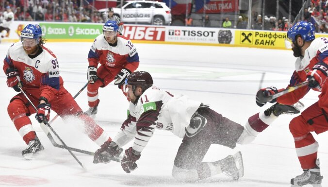 Сборная Латвии шла на сенсацию в матче с чехами. Все сломало решение судьи