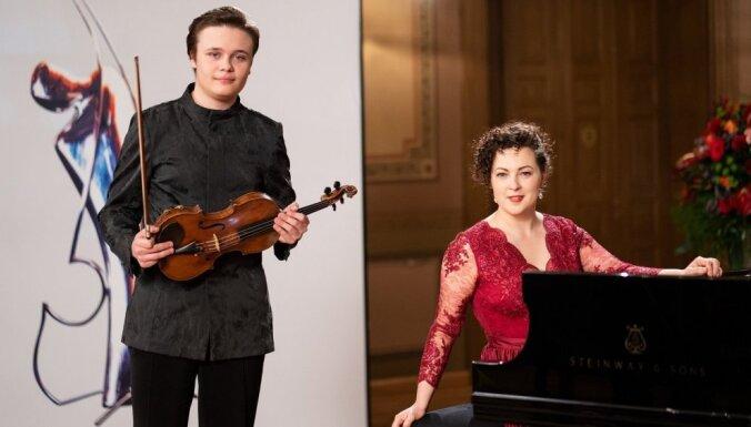 Dzintaru koncertzālē piedāvā brīvdienu mūzikas koncertu ar Agnesi Egliņu un Daniilu Bulajevu