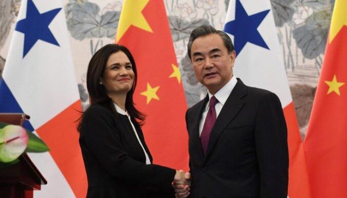 Panama sarauj saites ar Taivānu, lai draudzētos ar Ķīnu