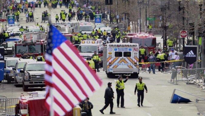 Pēc sprādzieniem Bostonā ASV pastiprina drošības pasākumus