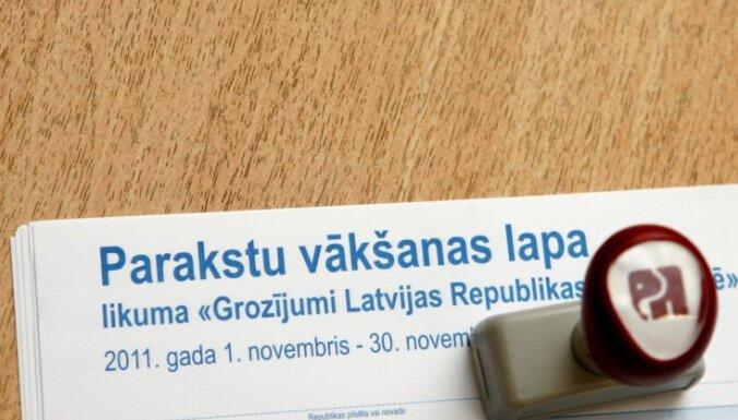 Savākti vairāk nekā 700 parakstu referenduma ierosināšanai par Latvijas pilsonības piešķiršanu nepilsoņiem