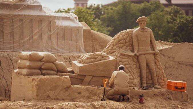 ФОТО. 20 июня в Елгаве откроется парк песчаных скульптур