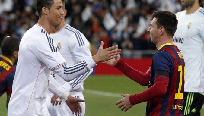 Real Madrid Cristiano Ronaldo, Barcelona Lionel Messi