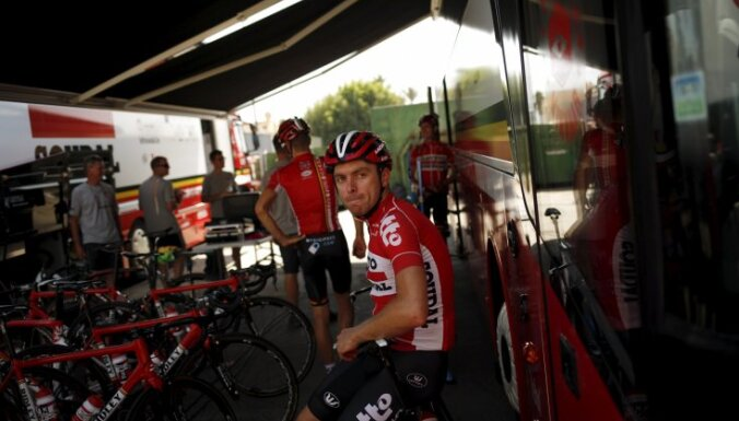 Lotto-Soudal rider Kris Boeckmans of Belgium