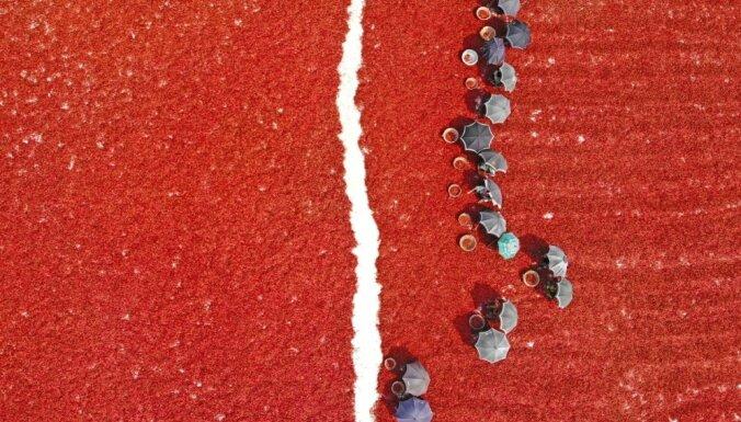 Dienas ceļojuma foto: Pasaules asākais lauks – kā žāvē čili piparus