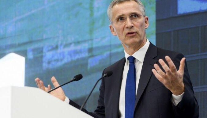 Stoltenbergs sagaida Bosnijas un Hercegovinas pavirzīšanos soli tuvāk dalībai NATO