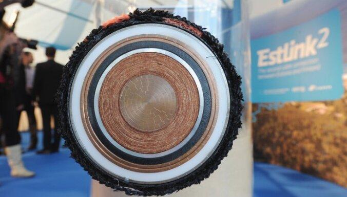 Tehnisku problēmu dēļ nedarbojas Igaunijas-Somijas elektrokabelis 'Estlink'