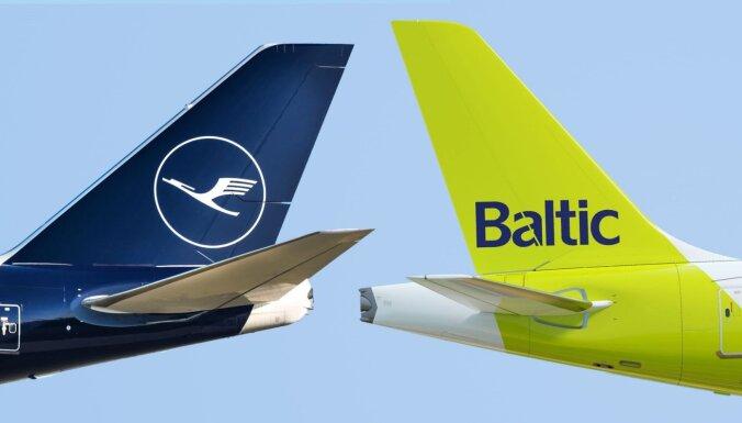 airBaltic и Lufthansa запустят код-шеринговые рейсы