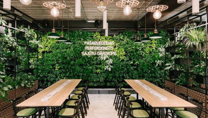 ФОТО. Самый крупный ресторан в Марупе открылся для посетителей