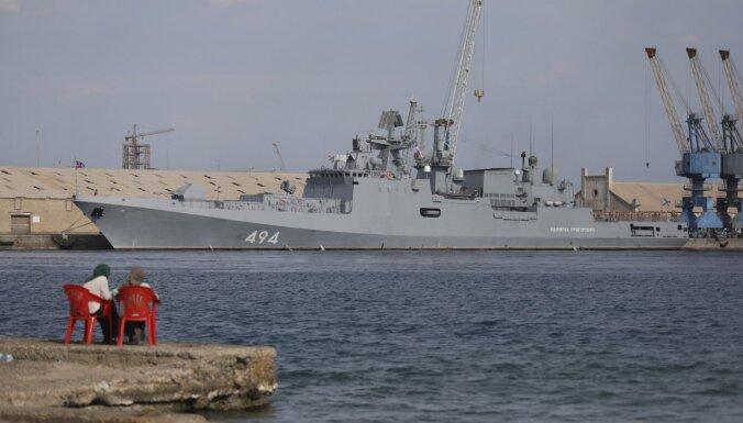 Sudāna vairs nav droša, vai vēlas Krievijas karaflotes bāzi
