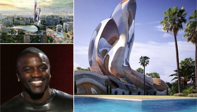 Akon Senegālā būvēs pilsētu citviet mājas nerodošajiem afrikāņu pēctečiem