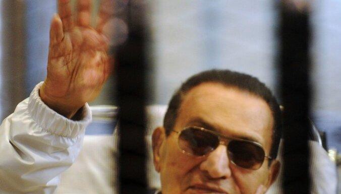 Ēģiptes prokurors ļauj atbrīvot Mubaraku