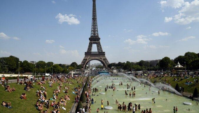 Parīzē pārspēts absolūtais karstuma rekords