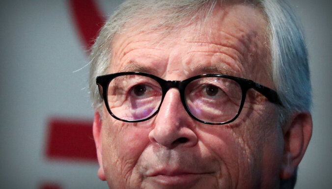 'Brexit' vienošanos nepārstrādās, potenciālos britu premjerus brīdina Junkers