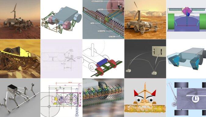 ВИДЕО: латвийцы получили приз NASA за робота для исследования Венеры