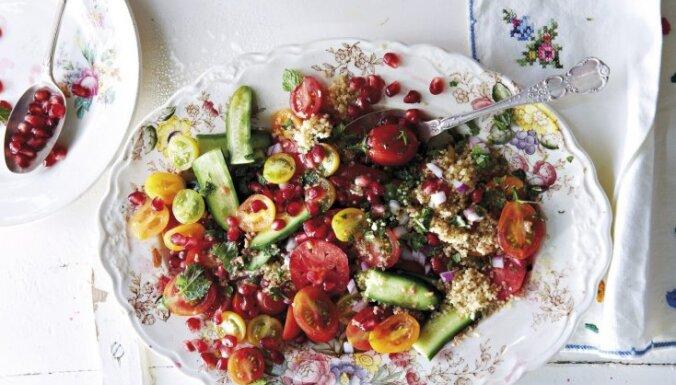 Svaigie kvinojas salāti
