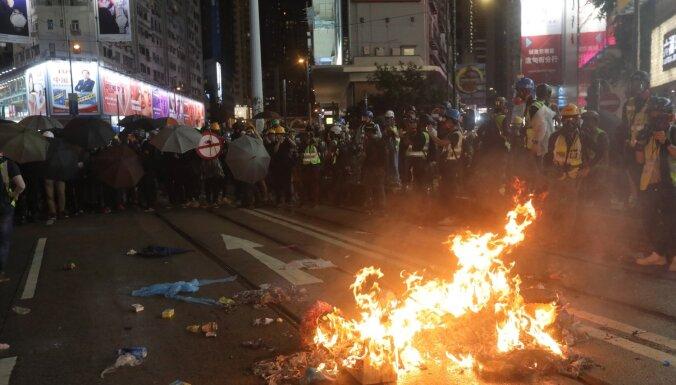 Protestu dēļ atcelts Honkongas WTA tenisa turnīrs