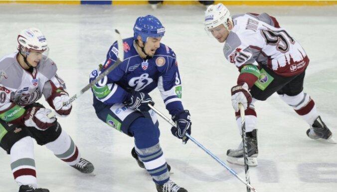 Rīgas 'Dinamo' neizdodas Maskavā pabeigt Gagarina kausa pirmo kārtu