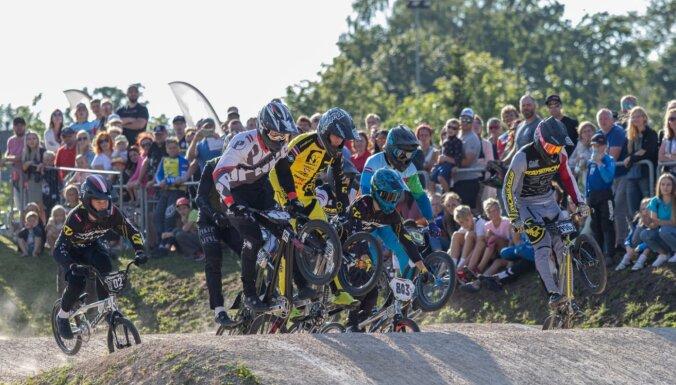 'SMScredit.lv' BMX čempionāta Jelgavas posmā pārspēts dalībnieku rekords