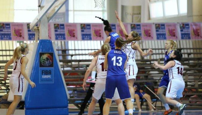 Latvijas U-20 basketbolistes cīnīsies par piekto vietu Eiropas čempionātā