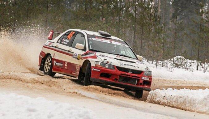 Atcelta Latvijas rallija čempionāta ieskaite Sāremā rallijā