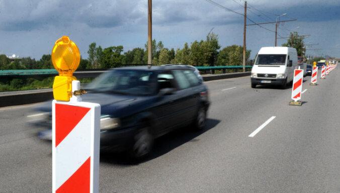 С 5 июля транспорт по Островному мосту пойдет по четырем полосам