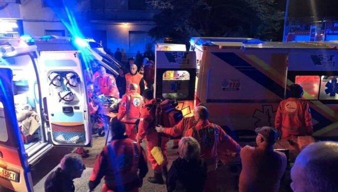 На рэп-концерте в Италии погибли шесть человек, десятки пострадали