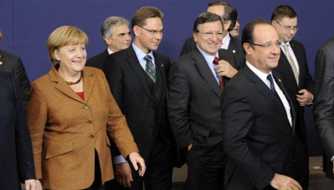 Лидеры Евросоюза поздравляют Латвию со вступлением в еврозону
